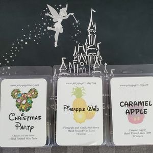 Lot of 3 Wax Melts Packs  Disney inspired scents